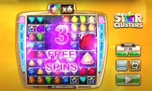 Star Clusters Mega Clusters freespins