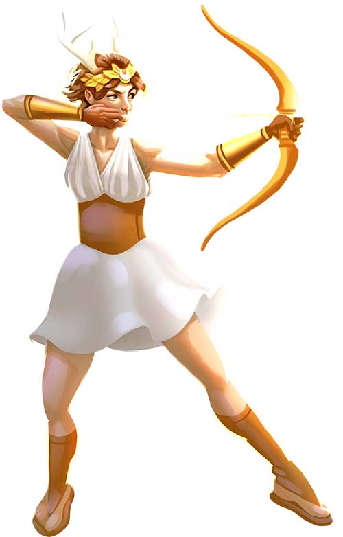 Artemis vs Medusa kamp