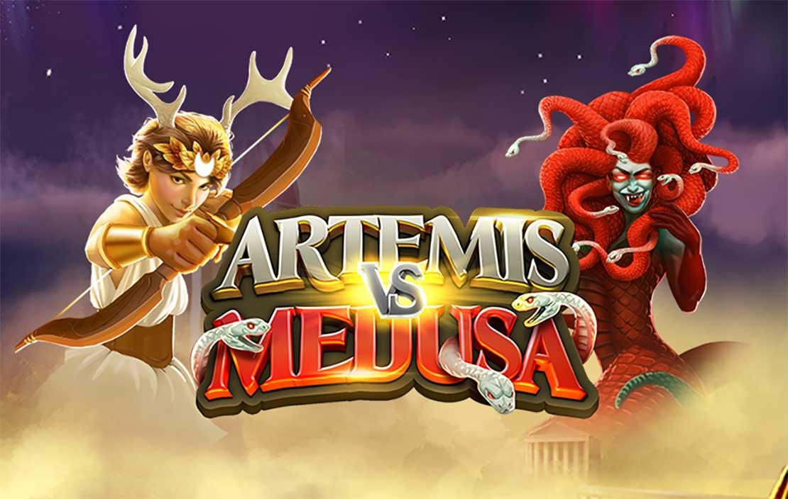 Artemis vs Medusa splash