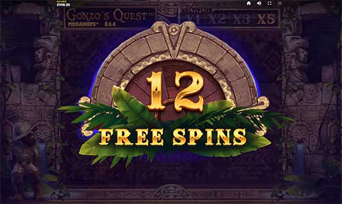 Gonzo's Quest Megaways freespins