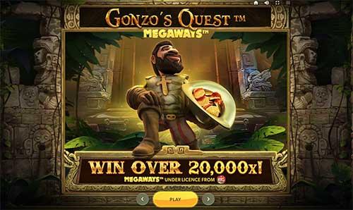 Gonzo's Quest Megaways informasjon