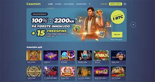 Casinoin hjemmeside