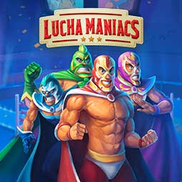 Lucha Maniacs spilleautomat