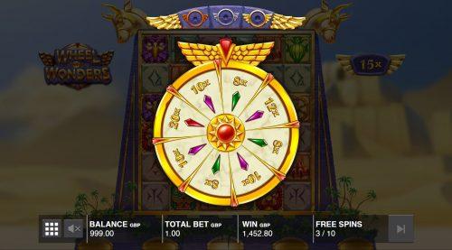 Wheel of Wonders multiplikator