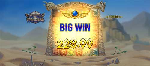 Wheel of Wonders stor gevinst
