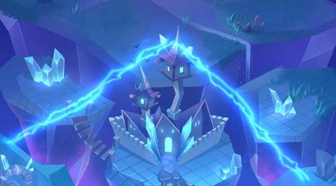 Crystal Quest: Arcane Tower bakgrunn
