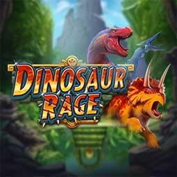 Dinosaur Rage spilleautomat logo