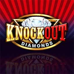 Knocout Diamonds spilleautomat logo