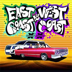 East Coast vs West Coast spilleautomat