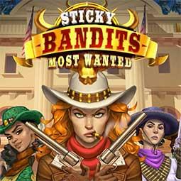 Sticky Bandits spilleautomat logo
