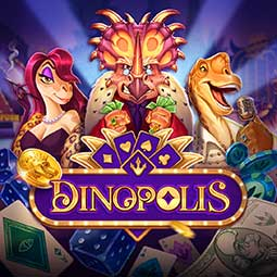 Dinopolis spilleautomat logo